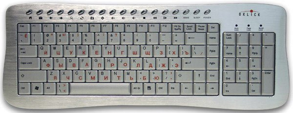 Клавиатура Oklick 380 M Office Keyboard