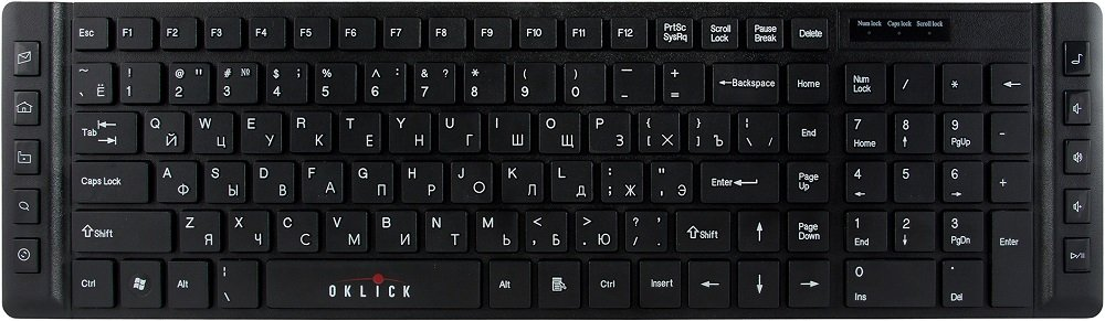 Клавиатура Oklick 530S Multimedia Keyboard