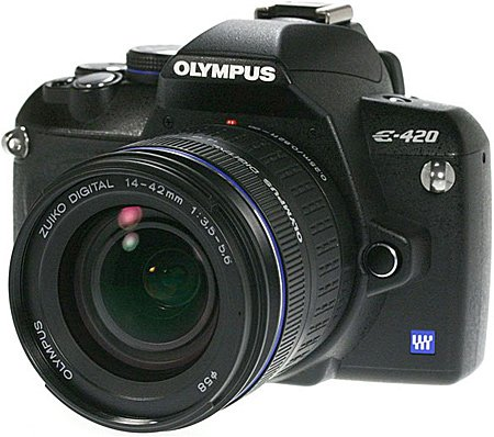 Фотоаппарат Olympus E-420 Double Zoom Kit
