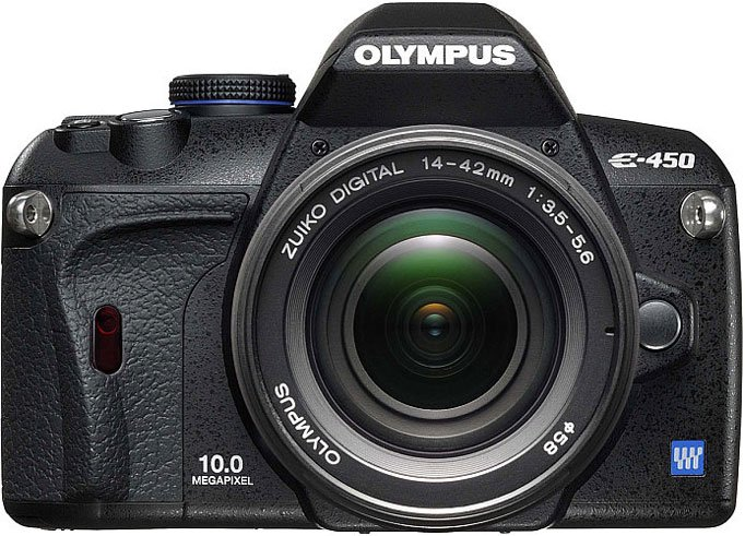 Фотоаппарат OLYMPUS E-450 Double Zoom Kit