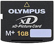 ����� ������ Olympus xD-Picture Card M+ 1GB
