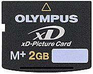Карта памяти Olympus xD-Picture Card M+ 2GB