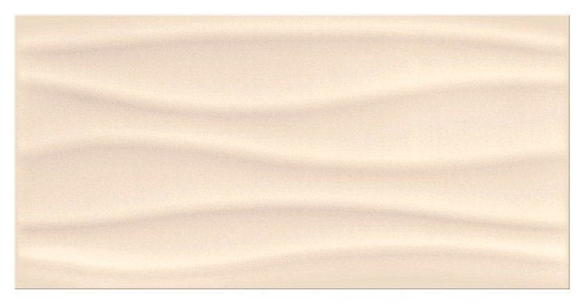 Плитка Opoczno Basic Palette beige glossy wave 29,7x60