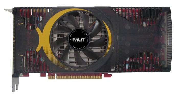 Видеокарта Palit GeForce GTS250 512Mb 256bit