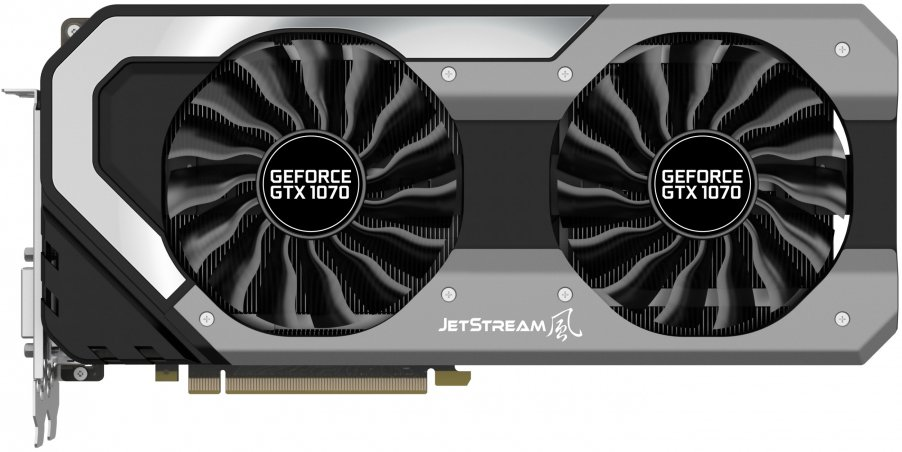 Видеокарта Palit (NE51070S15P2-1041J) GeForce GTX 1070 Super JetStream 8Gb GDDR5 256bit