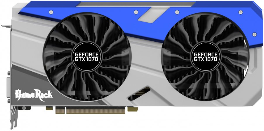 Видеокарта Palit (NE51070T15P2-1041G) GeForce GTX 1070 Super GameRock 8Gb GDDR5 256bit фото
