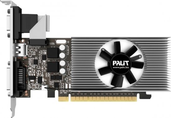 Видеокарта Palit NE5T7300HD06-2081F GeForce GT 730 1Gb DDR5 64bit фото