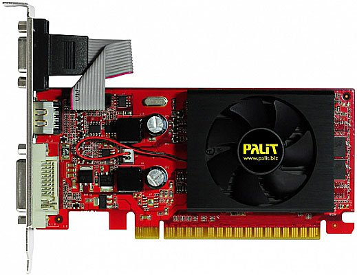 Видеокарта Palit NEAG84S0HD53-1193F GeForce 8400GS 512MB DDR3 32bit