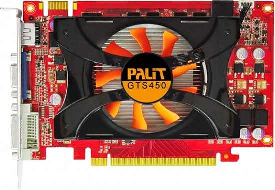 ���������� Palit NEAS4500HD41-1162F GeForce GTS 450 2048Mb GDDR3 128bit
