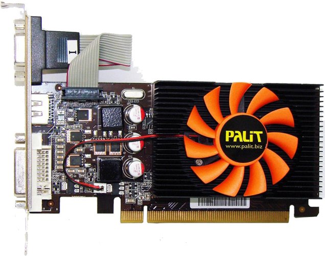 Видеокарта Palit NEAT430NHD01-1085F GeForce GT 430 1GB DDR3 128bit