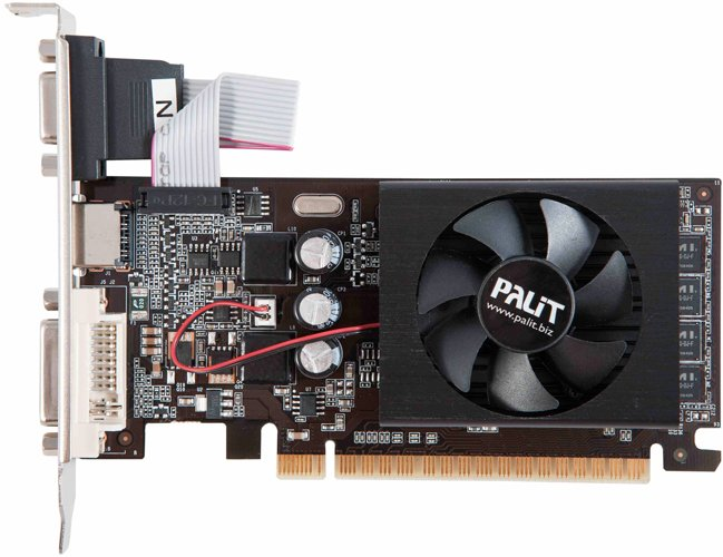 Видеокарта Palit NEAT6100HD06-1086F GeForce GT 610 1GB DDR3 64bit