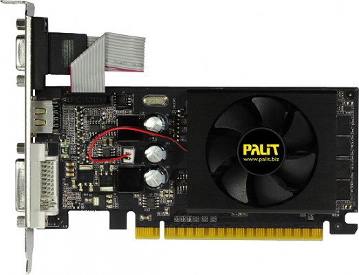 Видеокарта Palit NEAT6100HD46-1193F GeForce GT610 2Gb GDDR3 64bit