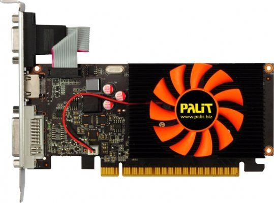 Видеокарта Palit NEAT6200HD06-1082F GeForce GT620 1024Mb GDDR3 64bit