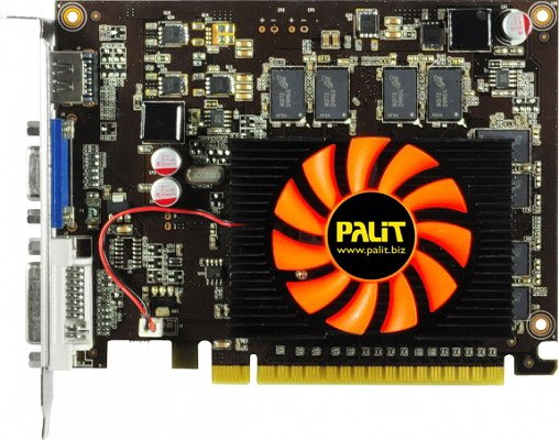 Видеокарта Palit NEAT6300HD01-1080F GeForce GT630 1024 Mb GDDR3 128bit