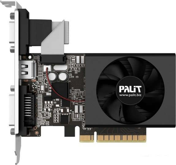 Видеокарта Palit NEAT7100HD46-2080F GeForce GT 710 2GB GDDR3 64 bit фото