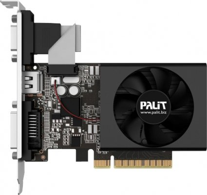 Видеокарта Palit NEAT7300HD06-2080F GeForce GT 730 1Gb DDR3 64bit