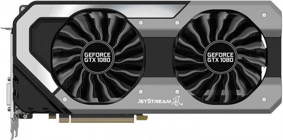 Видеокарта Palit NEB1080015P2-1040J GeForce GTX 1080 JetStream 8GB GDDR5X 256bit фото