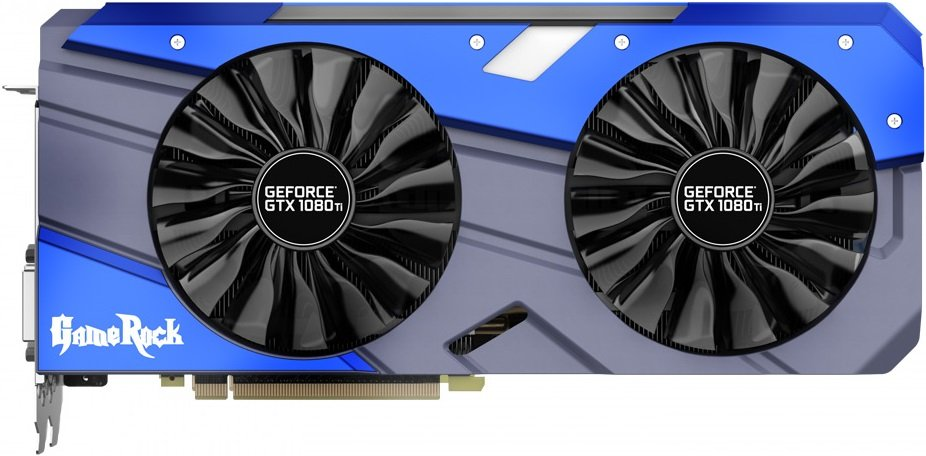 Видеокарта Palit NEB108TH15LC-1020G GeForce GTX 1080 Ti 11Gb GDDR5X 352bit