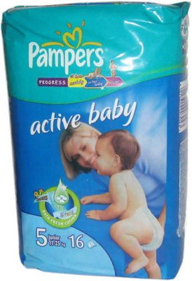 Подгузники Pampers Active Baby 5 Junior (12-25 кг) 16 шт