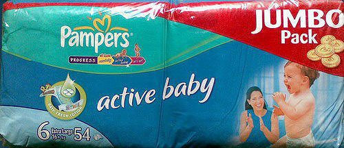 Подгузники Pampers Active Baby 6 Extra Large (16+ кг) 54шт