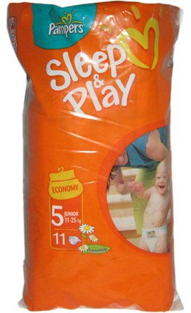 Подгузники Pampers Sleep & Play 5 Junior (12-25 кг) 11 шт