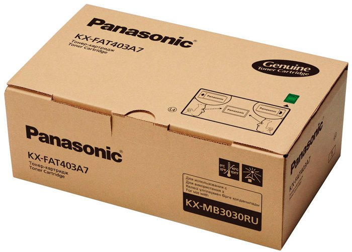 Лазерный картридж Panasonic KX-FAT403A7 фото