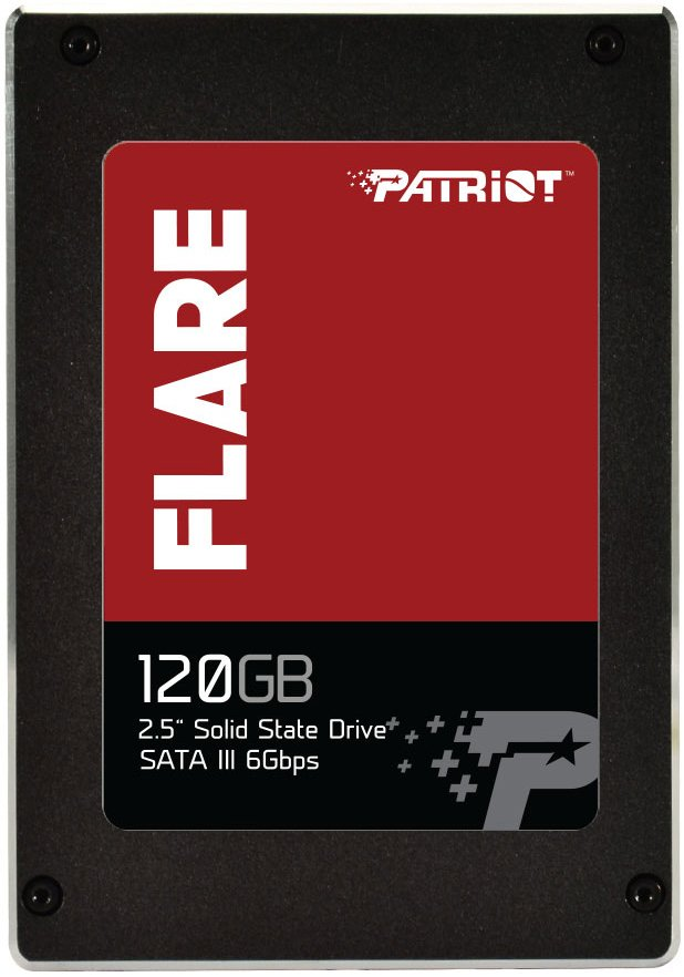Жесткий диск SSD Patriot Flare (PFL120GS25SSDR) 120 Gb фото
