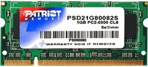 Модуль памяти Patriot PSD21G80082S DDR2 PC2-6400 1Gb