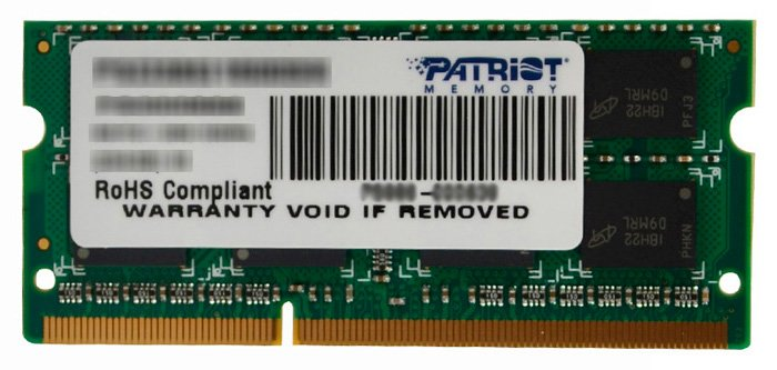 Модуль памяти Patriot PSD32G133381S DDR3 PC-10600 2Gb фото