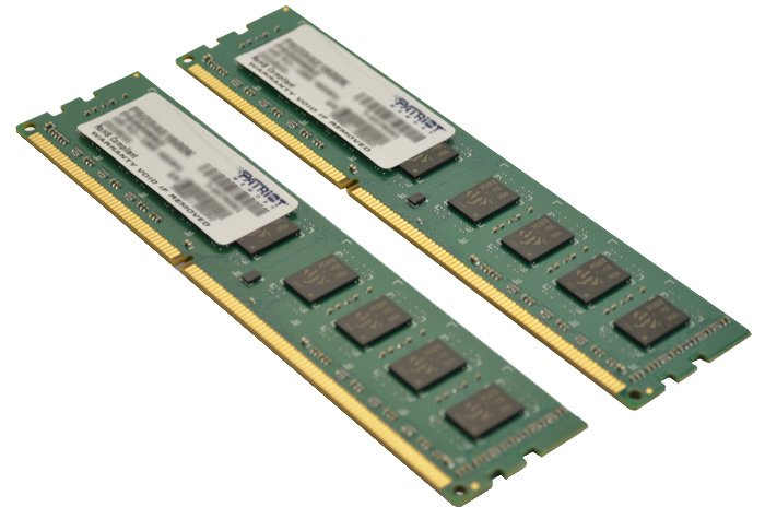 Модуль памяти Patriot PSD38G1333K DDR3 PC-10600 2x4Gb