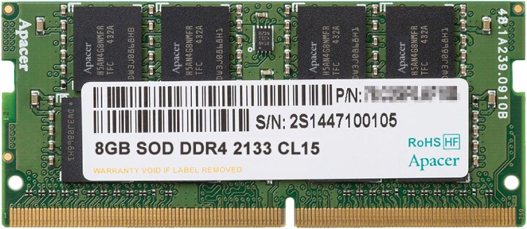 Модуль памяти Patriot PSD48G213381S DDR4 PC4-17000 8Gb