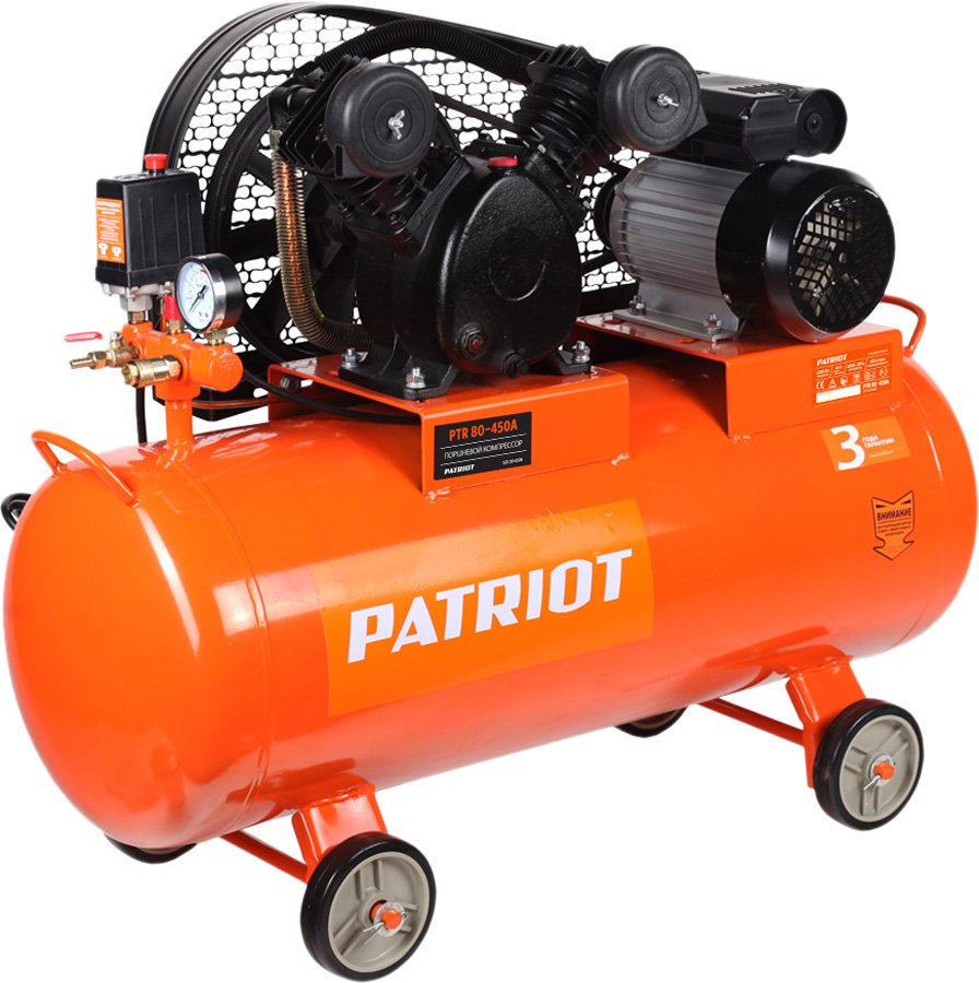 Компрессор Patriot PTR 80-450A фото