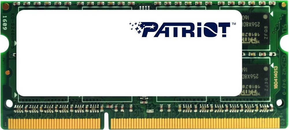Модуль памяти Patriot Signature Line PSD32G1600L2S DDR3 PC-12800 2Gb