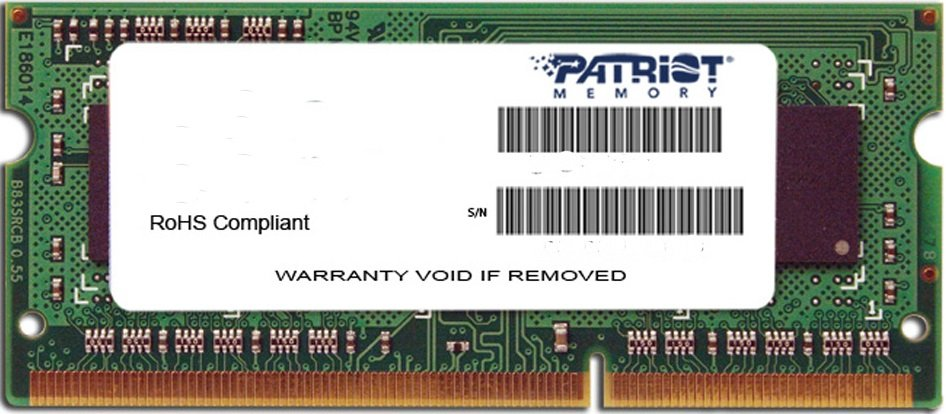 Модуль памяти Patriot Signature Line PSD32G1600L81S DDR3 PC3-12800 2Gb  фото