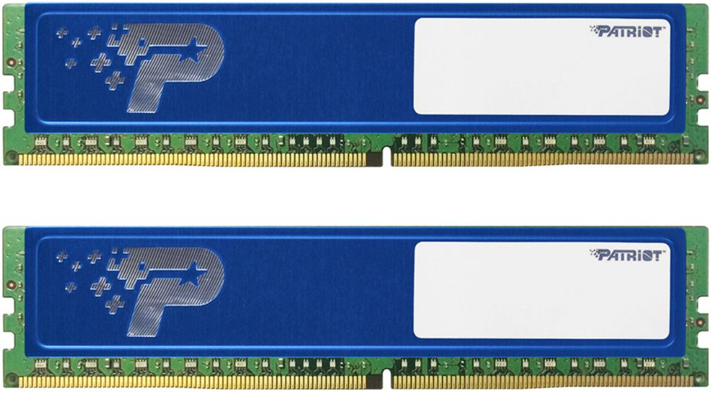 Комплект памяти Patriot Signature Line PSD48G2400KH DDR4 PC4-19200 2x4Gb фото