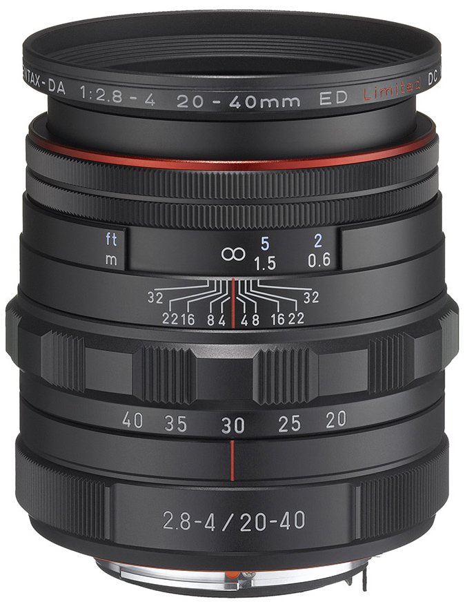 Объектив PENTAX HD DA 20-40mm f/2.8-4 ED Limited DC WR