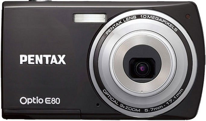 ����������� Pentax Optio E80 Black