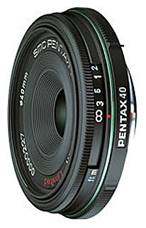 Объектив Pentax SMC DA 40mm f/2.8 Limited