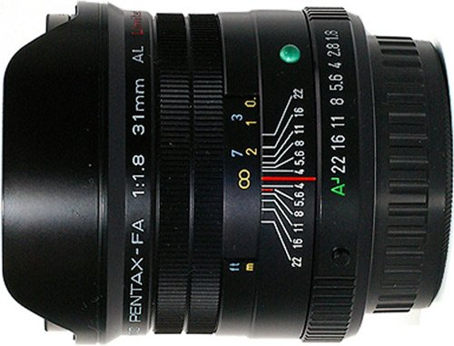 Объектив Pentax SMC FA 31mm f/1.8 AL Limited