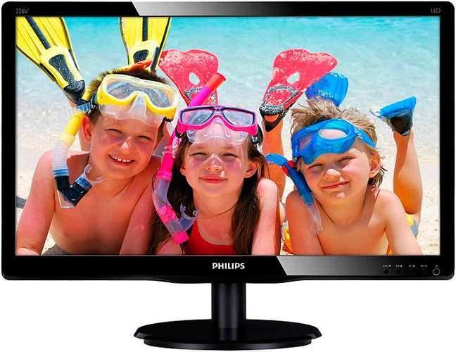 Монитор Philips 226V4LSB/01 фото