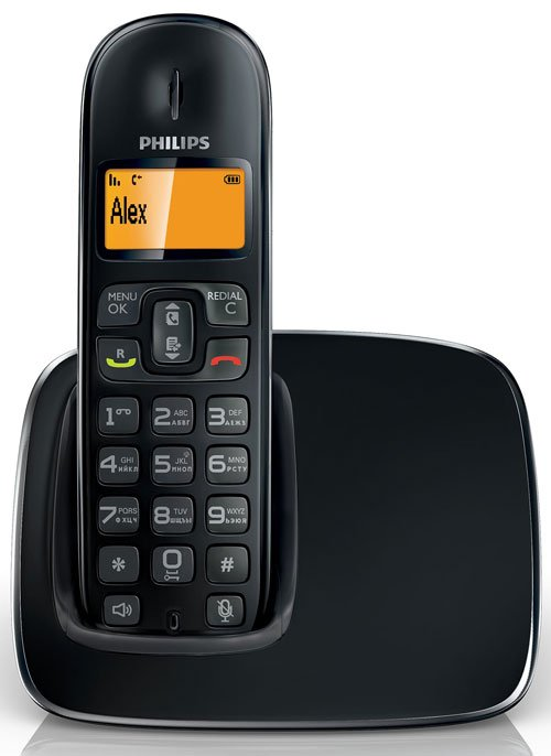 Радиотелефон DECT Philips CD1911B/51 фото