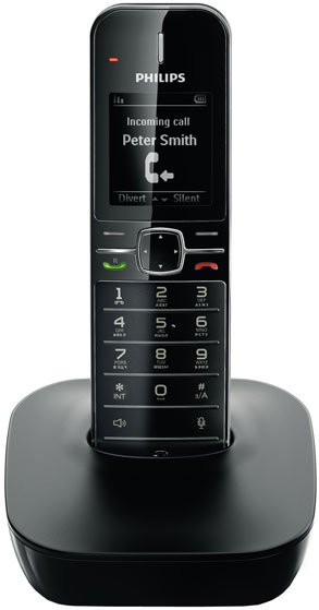 Радиотелефон DECT Philips CD4801B/RU фото