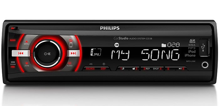Автомагнитола Philips CE138