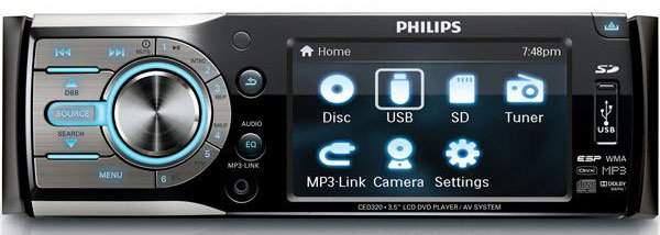 Автомагнитола Philips CED320