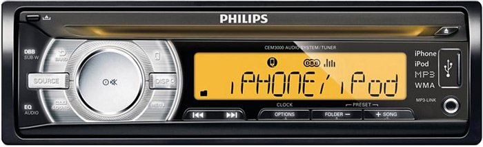 Автомагнитола Philips CEM3000