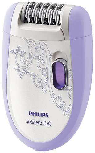 Эпилятор Philips HP6509/01 Satinelle Soft Total Body