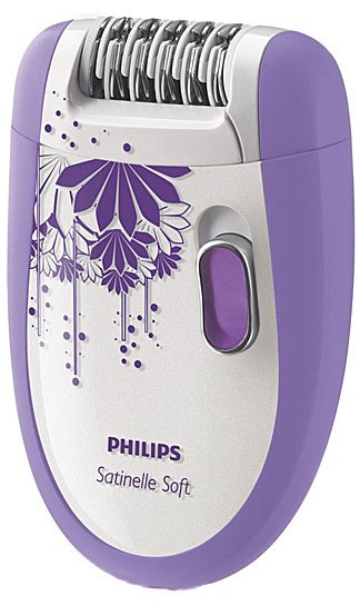 Эпилятор Philips HP6609 Satinelle Soft Total Body