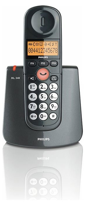 ������������ DECT Philips XL 340