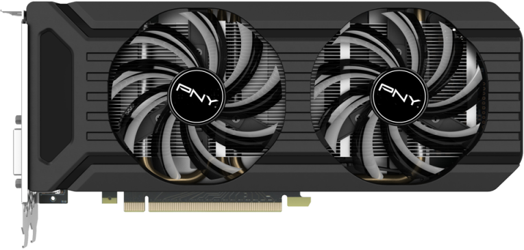 Видеокарта PNY GF1070GTXCR8GEPB GeForce GTX 1070 Twin Fan 8Gb GDDR5 256bit фото