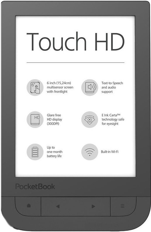 Электронная книга PocketBook 631 Touch HD